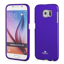 Silikonowa Nakładka Etui Mercury Jelly Case do Samsung Galaxy S6 - Fioletowe