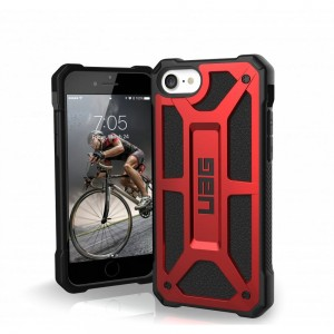 Etui ( UAG ) Urban Armor Gear Monarch do Apple iPhone 7 / 8 / SE 2020 - Czerwony