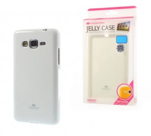Etui Placki Mercury JELLY Case do Samsung Galaxy J5 - Białe