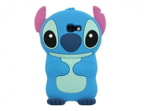 Etui Obudowa Guma 3D Stitch do Samsung Galaxy A3 2017