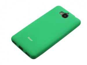 Nakładka Etui Roar Colorful Jelly Case do Huawei Y6 2017 - Miętowa