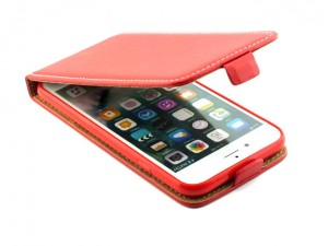Etui Kabura z klapką flexi Case do  Apple iPhone 7 i 8 4,7 - Czerwone