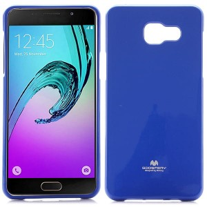 Etui Nakładka Mercury Goospery JELLY Case do Samsung Galaxy A5 2016 - Niebieske