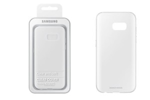 Oryginalne Etui Clear Cover EF-QA320TTEGWW do Samsung Galaxy A3 2017 - transparentne
