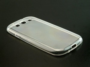 Etui Obudowa Guma Slim Case do Samsung Galaxy S3 - Transparentne