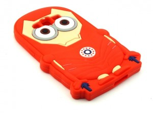 Etui Obudowa Guma 3D Case Iron Man do Samsung Galaxy Grand Prime