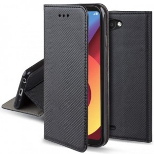 Etui pokrowiec Smart Book Case do LG Q6 - Czarne