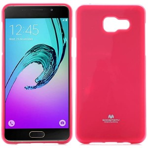 Etui Nakładka Mercury Goospery JELLY Case do Samsung Galaxy A5 2016 - Różowe