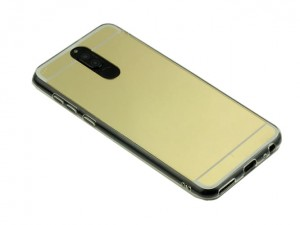 Etui Lustro Nakładka Mirror Case do Huawei Mate 10 lite - złote