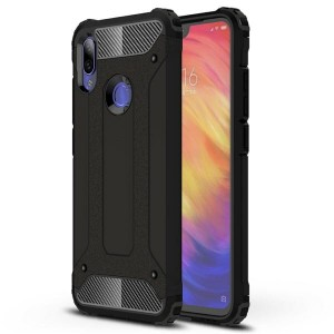Pancerne Etui Armor Case do Xiaomi Redmi Note 7 - Czarne