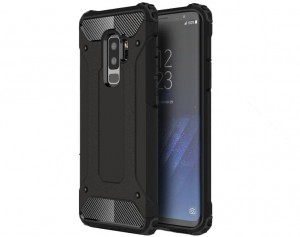 Pancerne Etui Armor Case do Samsung Galaxy S9 + (plus)- Czarne