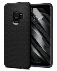 Etui plecki SPIGEN Liquid Air do Samsung Galaxy S9 - matte black