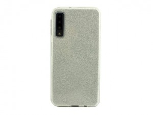 Etui Obudowa SHINING Case do Samsung Galaxy A7 2018 - Srebrny