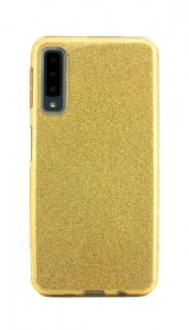 Etui Obudowa SHINING Case do Samsung Galaxy A7 2018 - Złoty