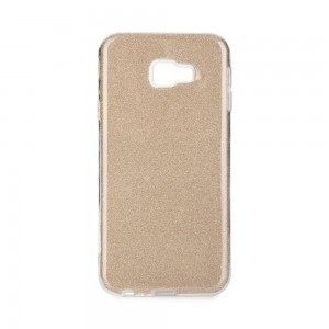 Etui Obudowa SHINING Case do Samsung Galaxy J4 Plus - Złote