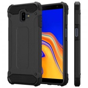 Pancerne Etui Armor Case do Samsung Galaxy J4 Plus - Czarne