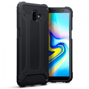 Pancerne Etui Armor Case do Samsung Galaxy J6 Plus - Czarne