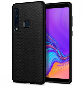 Etui plecki SPIGEN Liquid Air do Samsung Galaxy A9 2018 - matte black