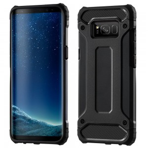 Pancerne Etui Armor Case do Samsung Galaxy S8 Plus - Czarny