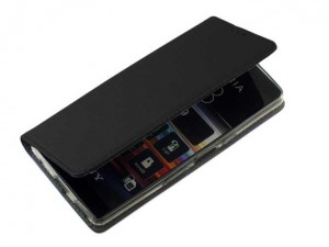 Etui Pokrowiec Smart Book Case do Sony Xperia L3 - Czarny