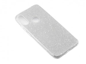 Etui obudowa SHINING Case do Xiaomi Redmi Note 7 - Srebrny