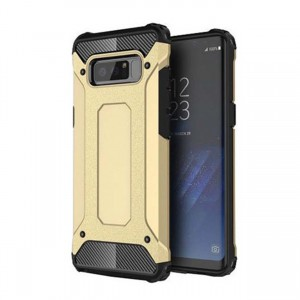 Pancerne Etui Armor Case do Samsung Galaxy Note 8 - Złoty