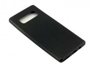 Etui Silikonowe Matt Black Case do Samsung Galaxy Note 8 - Czarny
