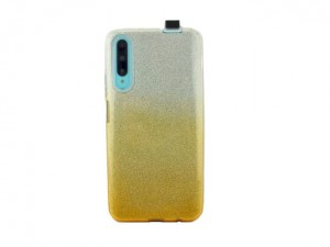 Etui Obudowa Brokatowa SHINING Case do Huawei P Smart Pro - Srebrno-Złota