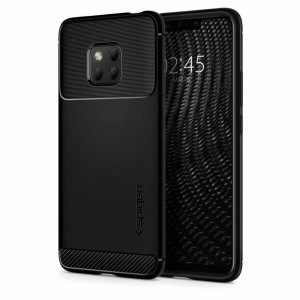 Etui SPIGEN Rugged Armor do Huawei Mate 20 Pro - czarny