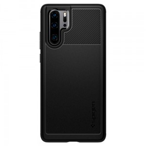 Etui SPIGEN Rugged Armor Case do Huawei P30 Pro - czarne
