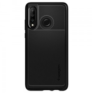 Etui SPIGEN Rugged Armor Case do Huawei P30 Lite - czarne