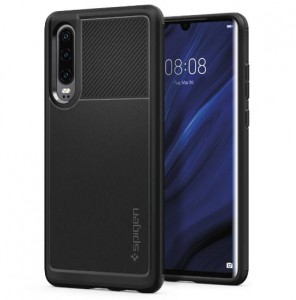 Etui SPIGEN Rugged Armor Case do Huawei P30 - czarne