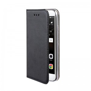 Etui Pokrowiec Smart Book Case do LG K11 - Czarne