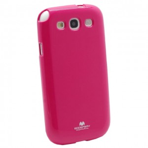 Etui Mercury JELLY Case do Samsung Galaxy S3 - Różowe
