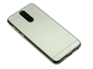 Etui Lustro Nakładka Mirror Case do Huawei Mate 10 lite - Srebrne