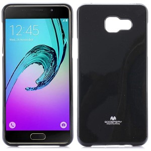 Etui Nakładka Mercury Goospery JELLY Case do Samsung Galaxy A5 2016 - Czarny