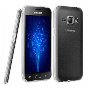 Etui Obudowa Guma Slim TPU Case do Samsung Galaxy J3 2016 -  Transparentna