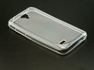 Etui Obudowa Guma Slim Case do Huawei Ascend Y5 - Transparentne