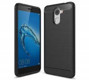 Etui Carbon Safe Case do Huawei Y7 - czarne