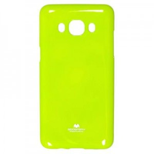 Etui Mercury JELLY Case do Samsung Galaxy Core Prime - Limonkowe