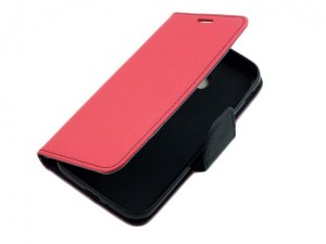 Etui Portfelik Fancy Case do Samsung Galaxy xCover 4 - Różowo-Granatowe