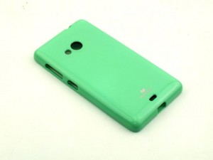 Etui Nakładka Mercury JELLY Case do Microsoft Lumia 535 - Miętowe