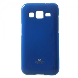 Etui Mercury JELLY Case do Samsung Galaxy Core Prime - Niebieske