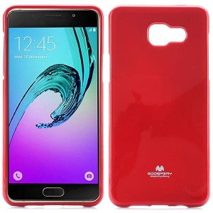 Etui Nakładka Mercury Goospery JELLY Case do Samsung Galaxy A5 2016 - Czerwone