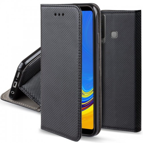 Etui Pokrowiec Smart Book Case do Samsung Galaxy A9 2018 - Czarne